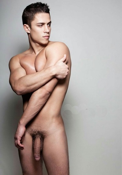 Handsome guy with big dick