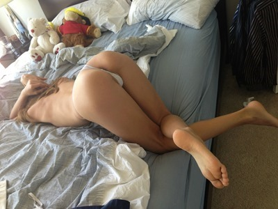 Young girls on all fours