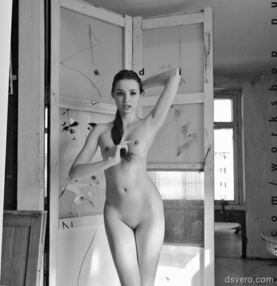 Black and white NUDE