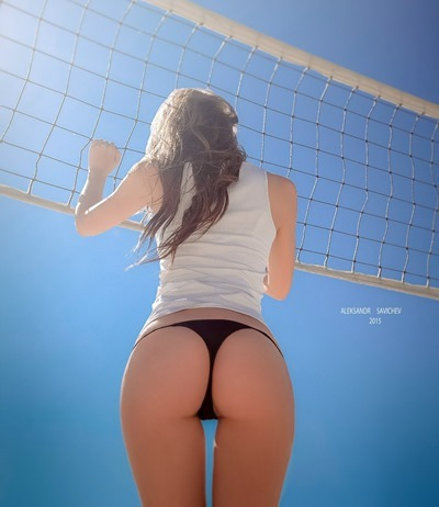 Girl: bottom view
