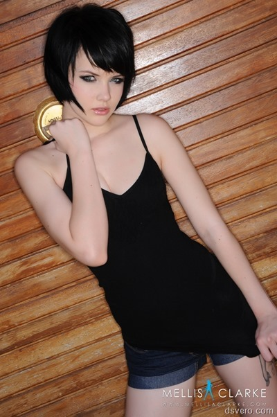 Mellisa Clarke erotic photoshoot
