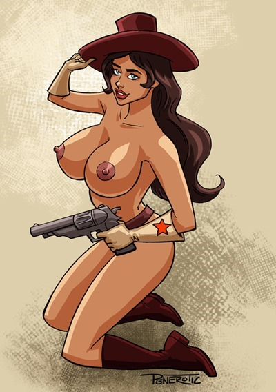 Naked cartoon girls