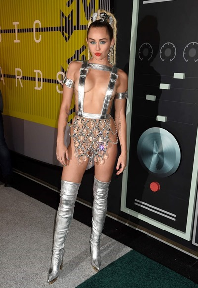 Revealing outfits Miley Cyrus