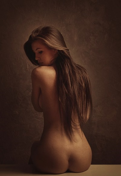 Nude girls as art