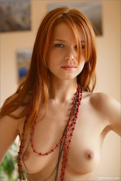 Naked redhead girl-beautiful