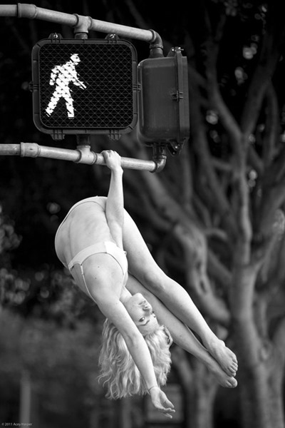 Acrobatic Nude from Acey Harper