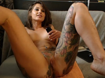 Webcam model Chaturbate tattoo